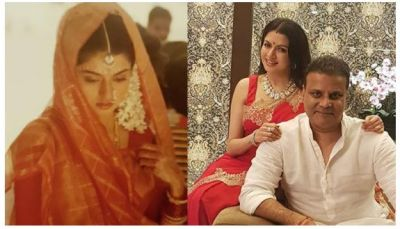Maine Pyar Kiya lead, Bhagyashree looks gorgeous in her wedding pic…have a look