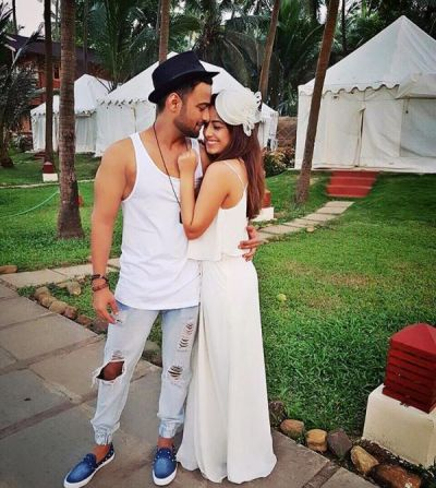 Manish Naggdev and Srishty Rode had their Roka on 15 February