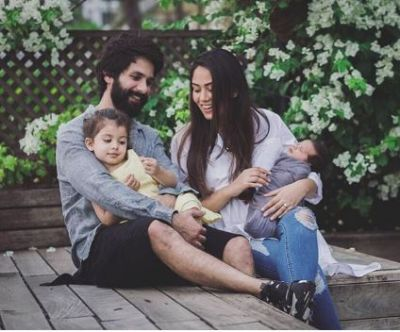 check out the adorable picture of 'Limited edition baby' of Mira Rajput and Shahid Kapoor