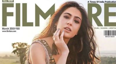 Check out the Sara Ali Khan's inside photo from her first-ever magazine cover shoot