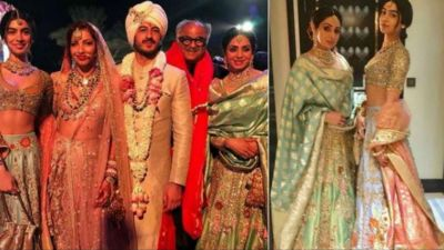 Bollywood stars arrive to give 'Himmat' for Kapoor's family