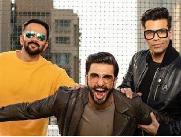 Karan Johar shares heartfelt message for Simmba actorRanveer Singh, Rohit Shetty — Check out