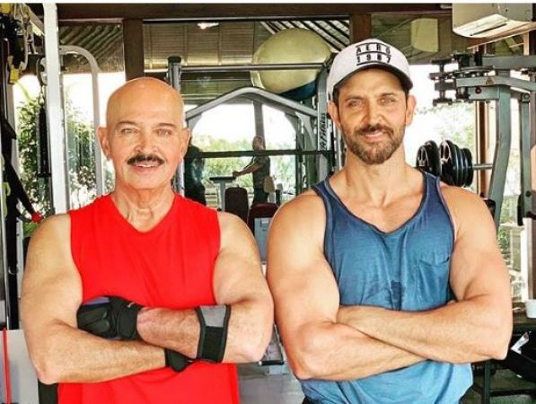 Hrithik Roshan reveals father Rakesh Roshan has been diagnosed with throat cancer