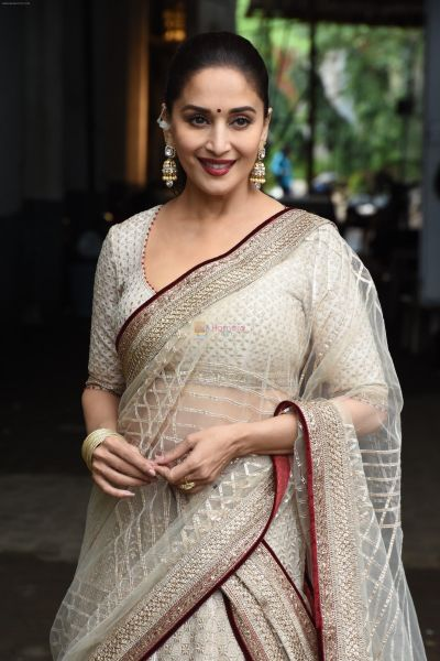 Madhuri Dixit Nene reacts to the rumors of her contesting the parliamentary elections
