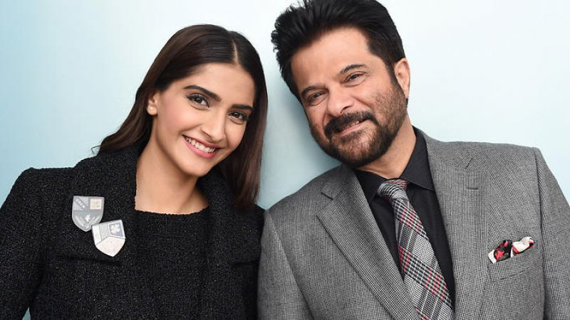 Sonam Kapoor with his dad Anil Kapoor movie 'Ek Ladki Ko Dekha To Aisa Laga'