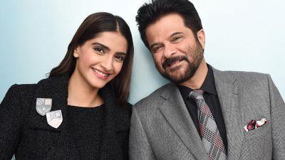 Sonam Kapoor with his dad Anil Kapoor movie 'Ek Ladki Ko Dekha To Aisa Laga'