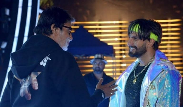 Amitabh Bachchan reveals his 'Electric Eclectic' moment with Ranveer Singh