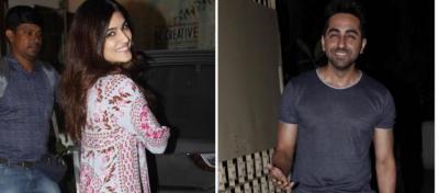 Pics! Ayushman Khurrana and Kriti Sanon planning for next movie?
