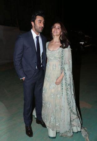 Ranbir Kapoor and Alia Bhatt turn all heads at the Umang 2019