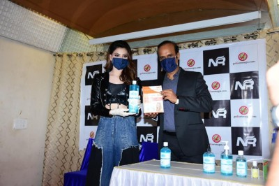 Urvashi Rautela Launches goKoronago.com of N R Group, essential products at HALF the Price