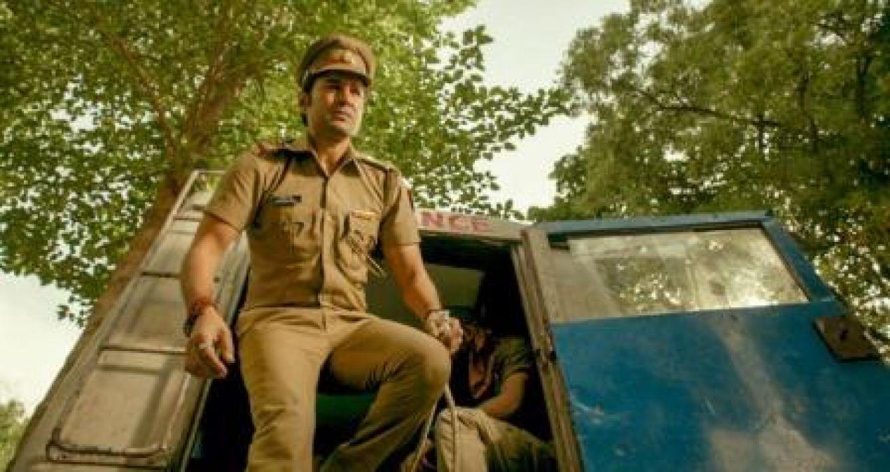 Rajeev Khandelwal's cop look out from the film Pranaam