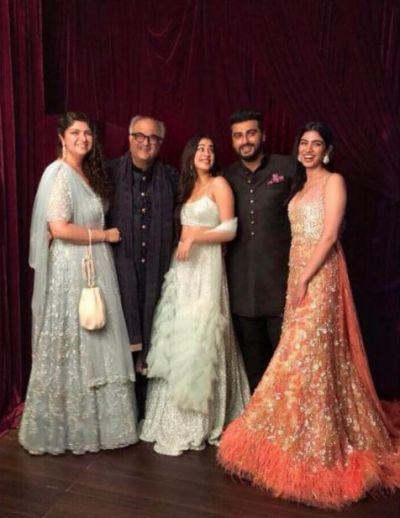 Arjun expresses love for sisters, Jhanvi and Khushi