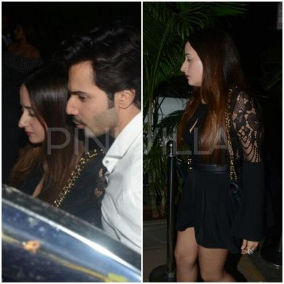 Varun spotted on a dinner date with girlfriend Natasha Dalal
