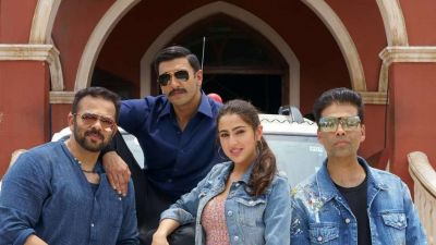 Priya Prakash Varrier and Jahnvi Kapoor were the first choice for the film Simmba