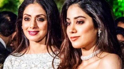 Jahnavi did this in her first film which Sridevi didn't do in her acting career