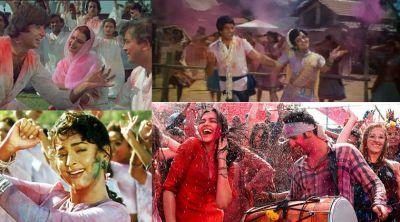 """5 Best 'Holi Gaane': From """"Rang Barse"""" to """"Balam Pichkari"""""""