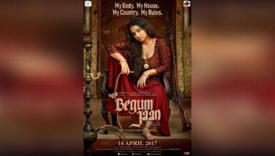Vidya Balan stuns in the first poster of BEGUM JAAN
