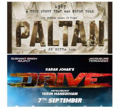 Movie Clash: 'Paltan' and 'Drive' to release on the same day