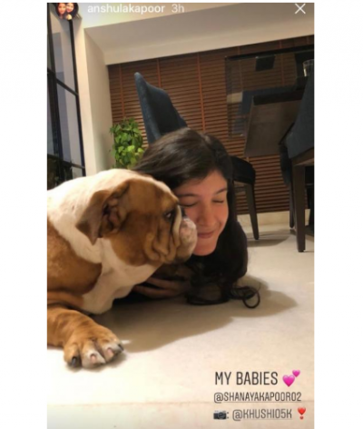 This adorable photo of Shanaya Kapoor will make your day