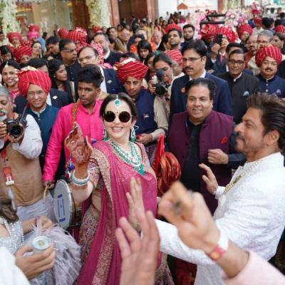 Nita and Isha Ambani dancing pictures for Akash's baraat is unmissible, check it out here