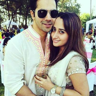 ' I'm with her because she has her own individuality' Varun Dhawan on dating Natasha Dalal