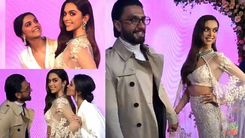 Pictures: Deepika Padukone unveils her wax statue at Madame Tussauds with Ranveer Singh