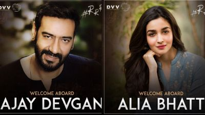 SS Rajamouli's '#RRR'; first look poster out, check out the Alia Bhatt, Ajay Devgn's look