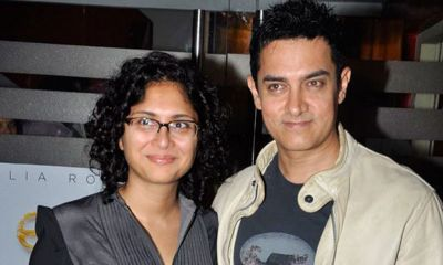 Birthday boy Aamir Khan wife Kiran Rao locks lips, check out photo here