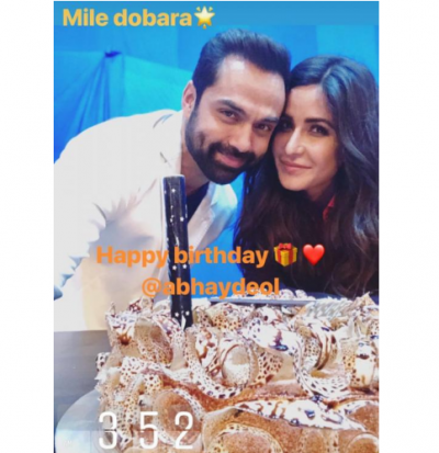 Katrina Kaif shared a beautiful selfie with Abhay Deol on his birthday