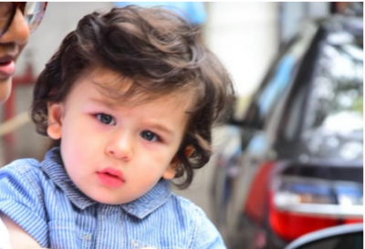 Taimur Ali Khan's curious eyes have something to say