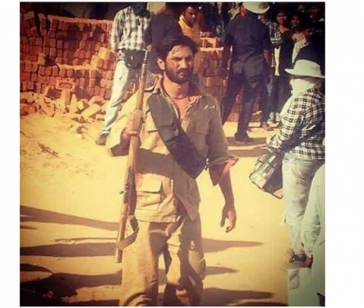 Sushant Singh's another still from the sets of Son Chiriya getting viral