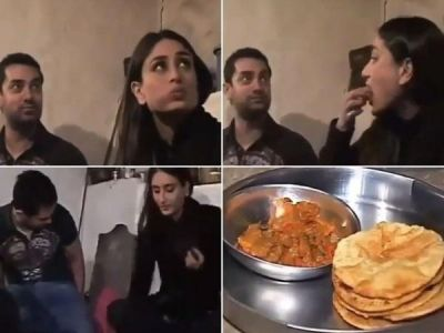 Watch:  Kareena Kapoor, Aamir Khan enjoy a meal at a farmer's house