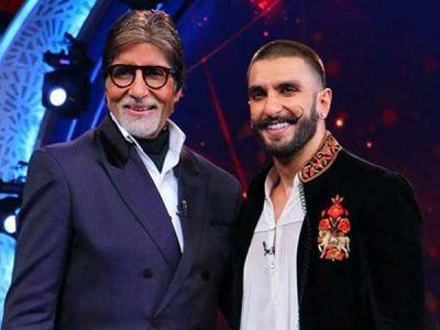 Amitabh Bachchan lauds Ranveer Singh for flaunting retro fashion