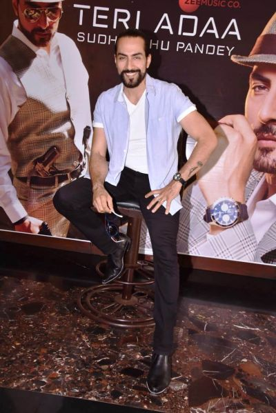 Bollywood actor Sudhanshu Pandey released his first solo single music video