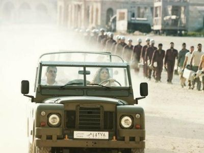Katrina Kaif drives the classic 1960s Land Rover, check out pic here