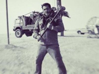 Salman Khan sweated it out in the oil fields for Bharat,check out pic here