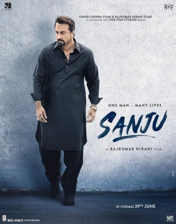 Sanju new poster: Reminds Sanjay Dutt from the year 2017