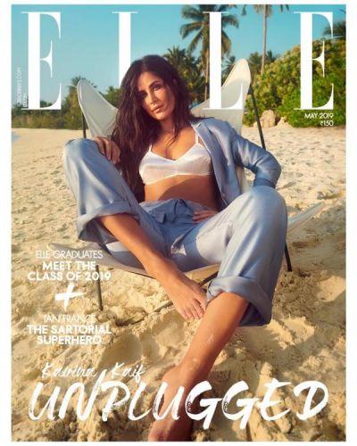 Katrina Kaif  cover photo the latest fashion magazine is unmissable