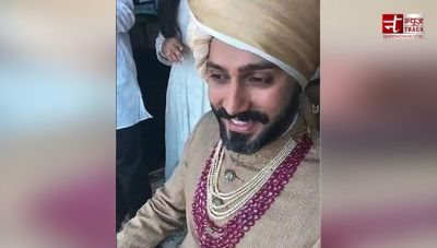 FIRST PICTURE! Anand Ahuja looks like a Royal Groom