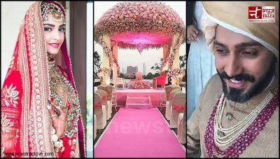 Watch Sonam and Anand step towards wedding Mandap