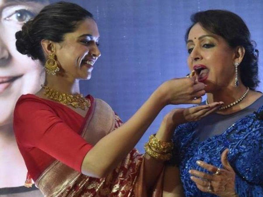 Hema Malini praises Deepika Padukone, says 'she is as beautiful inside as outside'