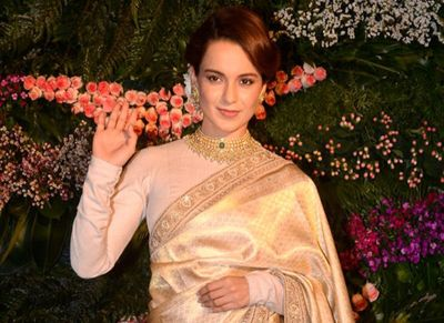 Kangana's attire at Cannes 2019 is bold and stunning