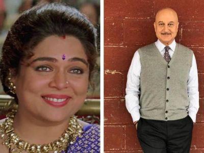 'I miss Reema Lagoo' Anupam Kher remembers actress Reema Lagoo on her first death anniversary