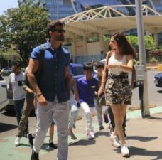 Hrithik Roshan and Sussanne Khan spend Sunday with their kids