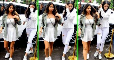 Ananya Pandey wishes her BFF Suhana Khan in a unique manner