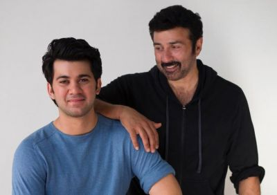 Karan Deol kick-started the shooting of his debut film