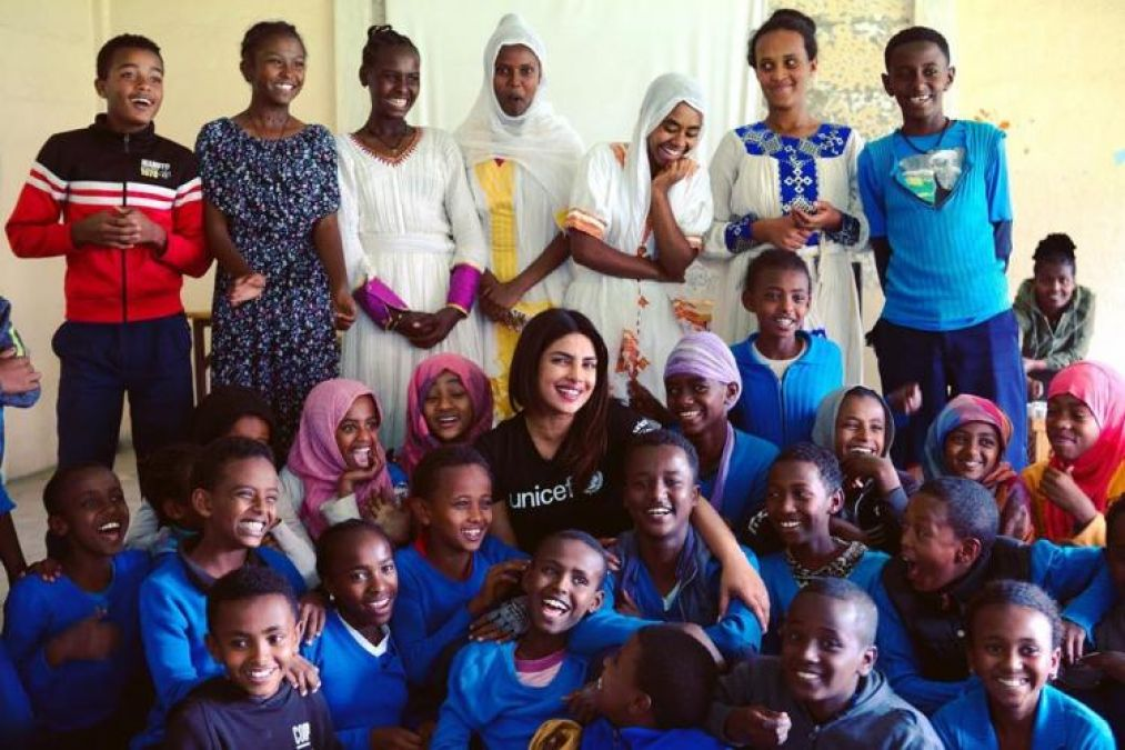 Priyanka Chopra visits refugee camps in Ethiopia, Here what fan asks what about our motherland
