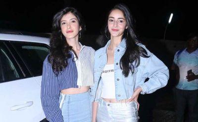 In a Latest Post, Ananya Pandey-Shanaya Kapoor glam up!