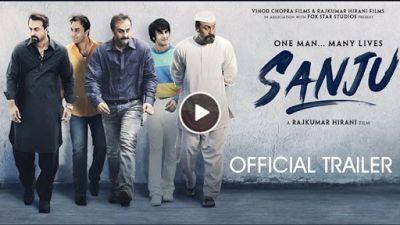 Sanju Trailer out watch video: Ranbir Kapoor is remarkable as Sanjay Dutt