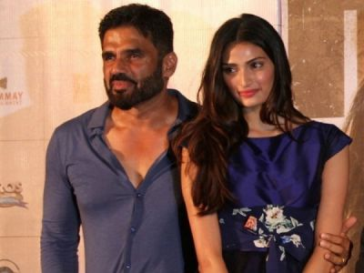 Suniel Shetty has one condition to work with daughter Athiya